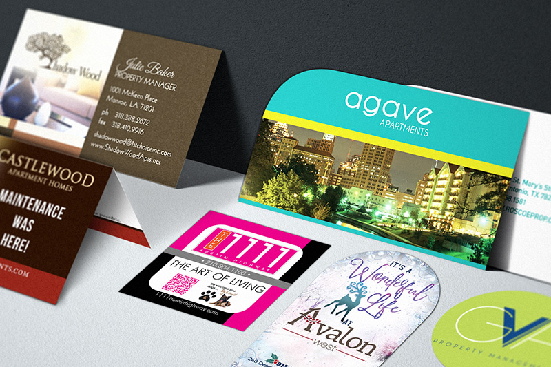 Apartment Business Cards