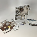 Apartment Brochure Die Cut
