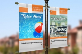 Apartment Boulevard Banners